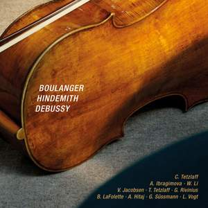 Boulanger, Hindemith & Debussy: Chamber Works