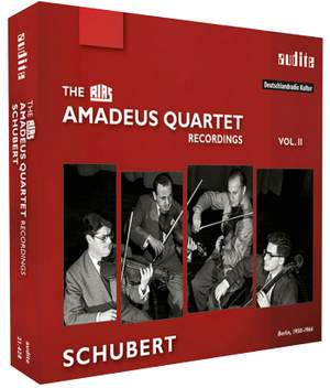 The RIAS Amadeus Quartet Recordings Vol. 2: Schubert
