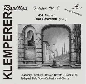 Klemperer Rarities: Budapest, Vol. 8 (1948)