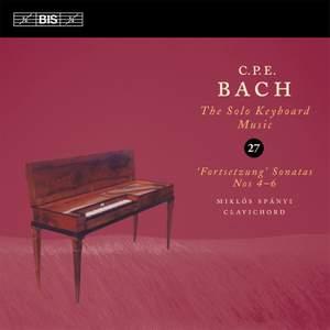 C P E Bach - Solo Keyboard Music Volume 27