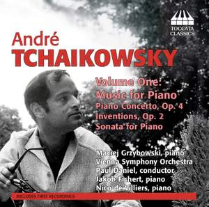 André Tchaikowsky: Music for Piano, Volume One