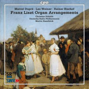 Franz Liszt Organ Arrangements Product Image