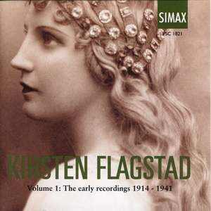 Kirsten Flagstad Volume 1: The Early Recordings 1914-1941 Product Image