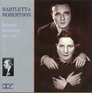 Bartlett & Robertson: Selected recordings 1927-1947
