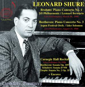 Leonard Shure plays Beethoven & Brahms Product Image