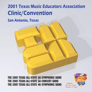 2001 Texas Music Educators Association (TMEA): All-State 5A Symphonic Band, All-State 5A Concert Band & All-State 4A Symphonic Band