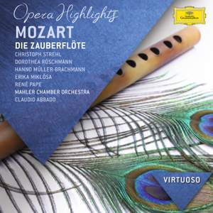 Mozart: Die Zauberflöte, K620 (highlights) Product Image