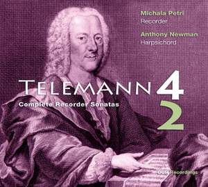 Telemann: Complete Sonatas for Recorder & Basso Continuo Product Image