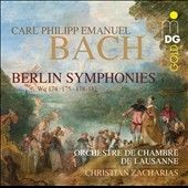 CPE Bach: Berlin Symphonies