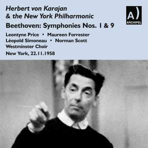 Beethoven: Symphonies Nos. 1 & 9 Product Image