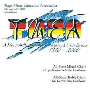 2000 Texas Music Educators Association (TMEA): All-State Mixed Chorus & All-State Women's Chorus Product Image