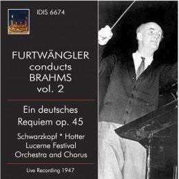 Furtwängler Conducts Brahms, Vol. 2 (Live)