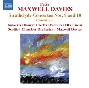 Maxwell Davies: Strathclyde Concertos Nos. 9 & 10 Product Image