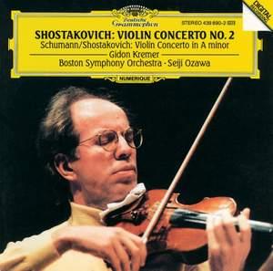 Schumann & Shostakovich: Violin Concertos Product Image