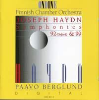 Haydn: Symphonies 92 (Oxford) & 99