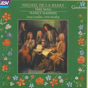 Michel La Barre: Flute Suites
