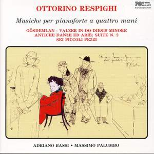 Respighi: Music for 4 Hands on One Piano