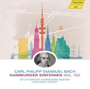 Bach, C P E: Hamburg Symphonies (6) for Strings, Wq. 182 (H657-662)