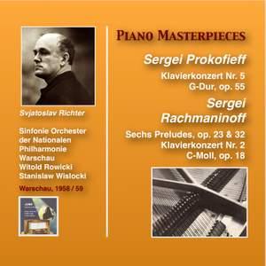Piano Masterpieces: Sviatoslav Richter plays Sergei Prokofieff and Sergei Rachmaninoff