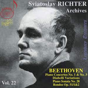 Sviatoslav Richter Archives, Volume 22