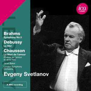 Evgeny Svetlanov conducts Debussy & Brahms