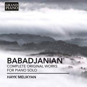 Arno Babadjanian: Complete original works for piano solo Product Image