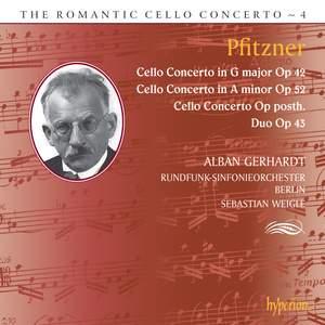 The Romantic Cello Concerto, Vol. 4: Pfitzner Product Image