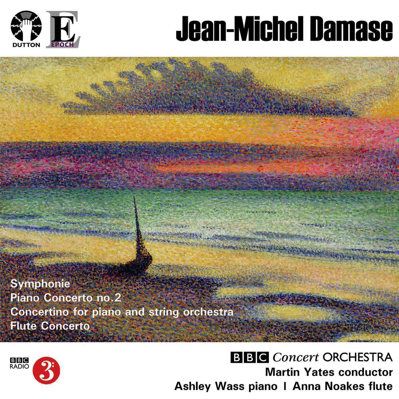 Jean-Michel Damase: Symphonie, Piano & Flute Concertos