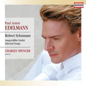 Schumann: Augeswählte Lieder