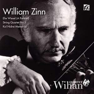 William Zinn: Works for String Quartet Product Image