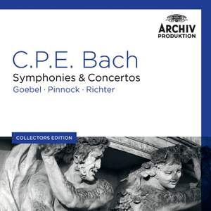 CPE Bach: Symphonies and Concertos