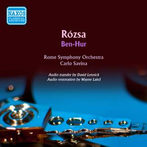 Rozsa: Ben Hur - suite for orchestra