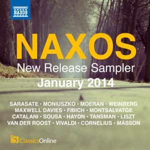 Naxos January 2014 New Release Sampler