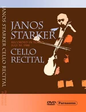 János Starker Cello Recital