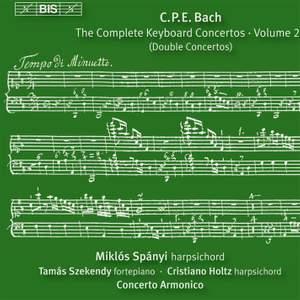 C P E Bach - Complete Keyboard Concertos, Volume 20