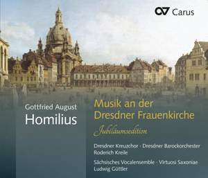 Homilius: Music at the Frauenkirche Dresden (Anniversary Edition) Product Image