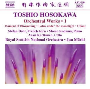 Toshio Hosokawa: Orchestral Works, Vol. 1 Product Image