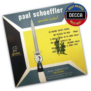 Paul Schoeffler - Operatic Recital