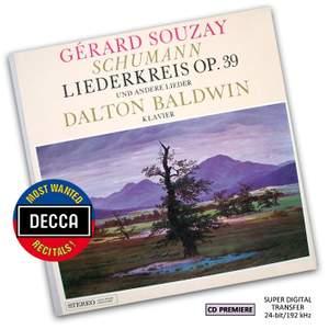 Schumann: Liederkreis Op. 39 and other songs