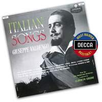 Giuseppe Valdengo - Italian Songs