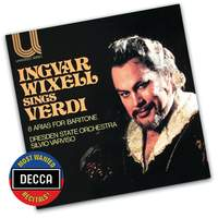 Ingvar Wixell sings Verdi - 8 Arias for Baritone