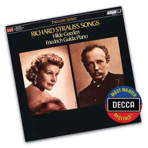 Hilde Gueden - Richard Strauss Songs