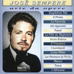 José Sempere: Arie da opere