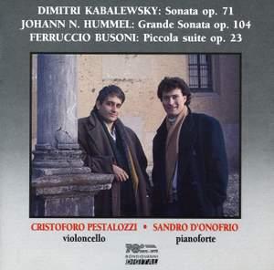 Kabalevsky, Hummel and Busoni: Chamber Works