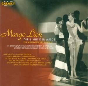Vocal Recital: Lion, Margo - Schultze, N. / Spoliansky, M. / Strasser, P. / Nelson, P. / Weill, K. / Grothe, F./ Berg, W. (1928-1977) Product Image