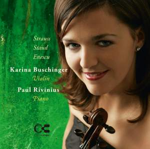 R Strauss, Staud & Enescu: Music for Violin and Piano