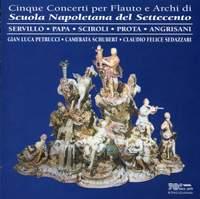 Cinque Concerti per Flauto e Archi di Scuola Napoletana del Settecento