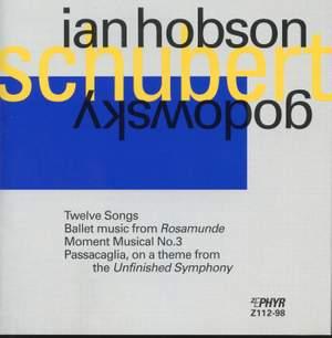 Ian Hobson Plays Schubert (Arr. by Godowsky)