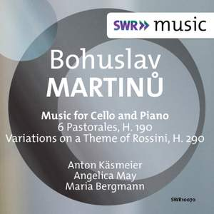 Martinů: Music for Cello and Piano