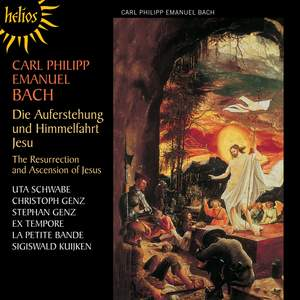 Bach, C P E: Die Auferstehung und Himmelfahrt Jesu, Wq. 240 (H777) Product Image